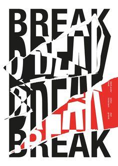 """""""break"""" by stefan hürlemann / switzerland, 2016 / digital print, 500 x 700 mm"""