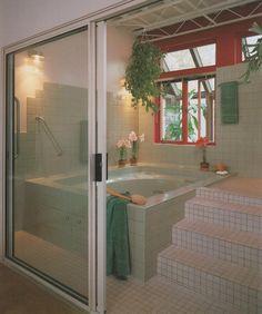 Soothing. Bath Design.1986. #interiors
