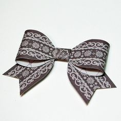 Paper Bow Tutorial for Gift Toppers