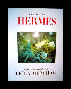 Love this book! Les vitrines de Leila par #Hermes