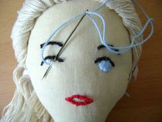 Embroidering Amigurumi Faces : 1000+ images about Knit/Crochet Doll Faces on Pinterest ...