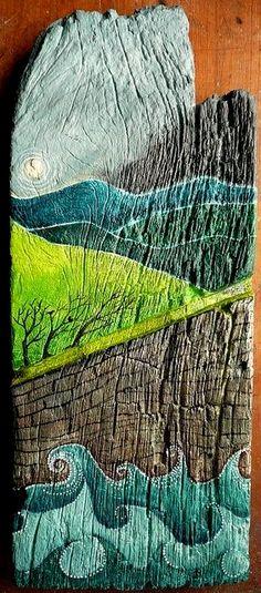 Woodgrain Wood Texture Grey Wood Gray Wood Wooden Tea Towels Woodgrain Grey - Driftwood by Rebecca Reck Art Set of 2 Linen Cotton Tea Towels - Driftwood 4 Us Scrap Wood Crafts, Scrap Wood Projects, Art Projects, Pallet Projects, Wood Painting Art, Wood Wall Art, Pallet Painting, Kids Room Paint, Kids Rooms