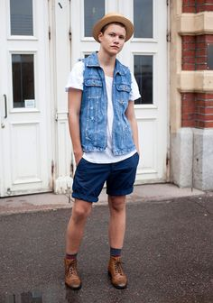 "Joachim, 17    ""I find inspiration in everything I see but I don't have any style idols. Most of my clothes are second hand. I don't really have one style but like to mix and match."""