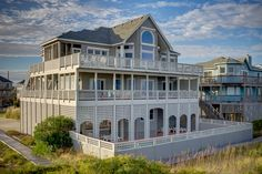 Outer Banks Vacation Rentals | Avon Vacation Rentals | Southern Belle #450 |  (7 Bedroom Oceanfront House)