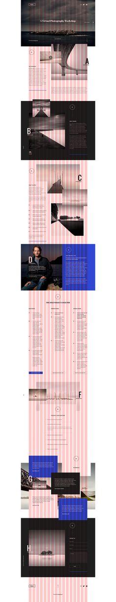 Koyo 2015 on Behance Website Design Layout, Web Layout, Layout Design, Book Design, Grid Website, Css Grid, Property Design, Grid Layouts, User Experience Design
