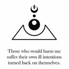 Protection Sigils, Protection Tattoo, Sigil Magic, Magic Symbols, Wiccan Symbols, Wiccan Spells, Witchcraft Spell Books, Indigo Children, Herbal Magic