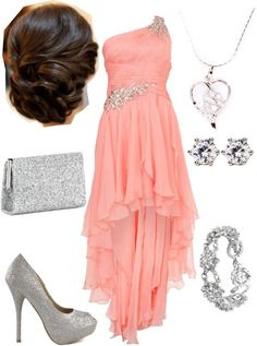 """teen choice awards."" by hannahparsons ❤ liked on Polyvore Perfect for a dance..."