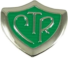 CTR Silver and Green pin with nickle free finish and enamel inlay in bronze. Religious Poems, Religious Pictures, Religious Gifts, Latter Days, Latter Day Saints, Religious Christmas Cards, Johnson Brothers, Horse Jewelry, Bronze
