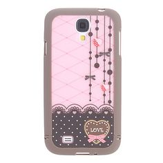 Exquisite Design Heart-Shaped Pattern 3 in 1 Bumper and Back Case for Samsung Galaxy Samsung Galaxy S4 Cases, Samsung Accessories, Cover Style, Samsung Mobile, Indie Brands, Shape Patterns, Fashion Branding, Galaxies, Heart Shapes