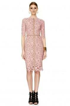 Pink Lace Dress - PNK Casual