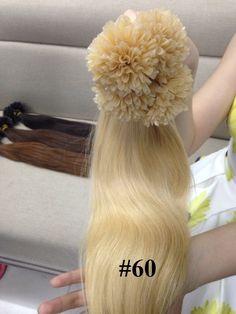 VIETNAMESE U TIP COLOR 60 IN STRAIGHT HAIR