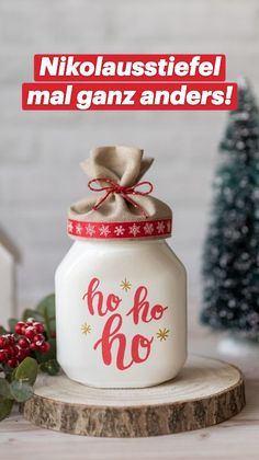 Diy And Crafts, Crafts For Kids, Christmas Gifts, Xmas, Glass Bottles, Nutella, Advent, Home Brewing, Gifts