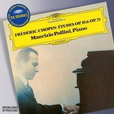 CHOPIN Études op. 10 & op. 25 / Pollini - Deutsche Grammophon