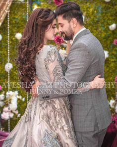 New Awesome Photoshoot of Hira and Mani Pakistani Wedding Photography, Wedding Couple Poses Photography, Wedding Poses, Wedding Couples, Bridal Photography, Indian Wedding Gowns, Pakistani Wedding Outfits, Bridal Outfits, Bridal Dresses