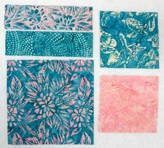 See the 3 (at least) disappearing quilt block options from 1 original quilt block. free pattern, using Brother Innov-is Banyan Batiks Island Vibes. Quilting Tips, Quilting Projects, Sewing Projects, Patch Quilt, Quilt Blocks, Shade Perennials, Shade Plants, Pattern Blocks, Free Quilt Block Patterns