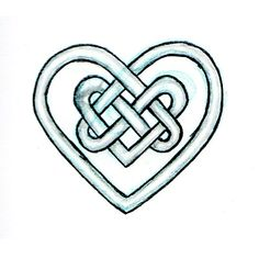A Celtic Heart Knot... Mommy Said Not To Come Back With An Irish Tattoo Or Boyfriend. I Think She Needs To Rethink Those Rules, I'm Pushing For Both!