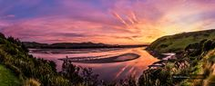 Sunrise over Papanui Inlet at Kaimata Retreat Zimmerman Photography