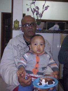 Miguel e vovô Valmir