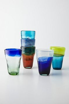 Tincture Glasses from Anthropologie - perfect for your next celebration.