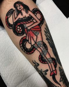 Gab Lavoie @ Tattoo Mania #traditional #tattoo #traditionaltattoo #tattoos #traditionaltattoos