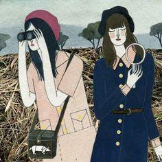 Imagem de girl, art, and fashion
