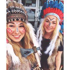 girls | native american costumes | tumblr