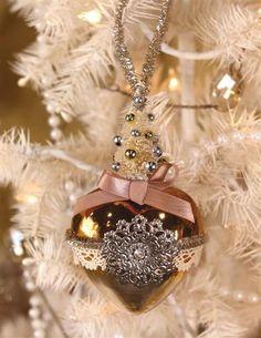Joyful Heart Ornament from Victorian Trading Co.