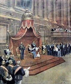 Inaugurazione della XX Legislatura