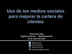 Apresentação do Xosé Castro sobre o modo mais eficiente de os tradutores usarem mídias sociais para conseguir clientes (texto em espanhol)