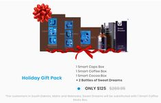 Until December make massive savings on this holiday bundle. Coffee Box, Sweet Dreams, Holiday Gifts, Cocoa, Clever, December, Packing, News, Bottle