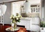 Kuchnia połączona z jadalnią. Decor, Table, Table Decorations, Home Decor, Furniture