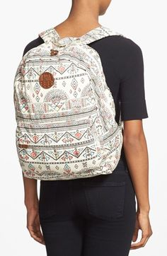 Billabong+'Hand+Over+Love'+Geo+Print+Backpack+available+at+#Nordstrom