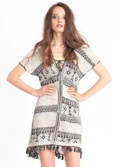 Festival Blanket Tunic By Free People - $168.00 : ThreadSence, Women's Indie & Bohemian Clothing, Dresses, & Accessories