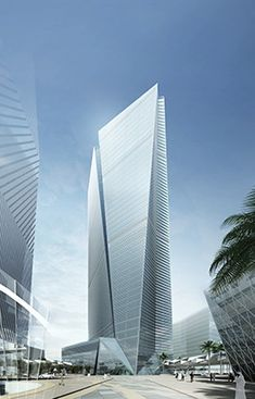 Tadawul Tower in Riyadh by Nikken - - modern