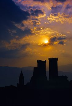 tramonto da Pacentro by paraluci on Flickr.