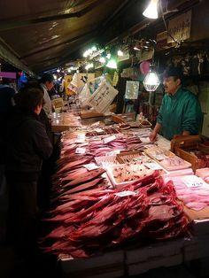Tsukji Fish Market Tokyo