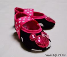 955dde1f1c5745 Black Polka Dot Mary Jane Play Slippers (Sizes 1 - 12) MEASURE your child s  foot PLEASE