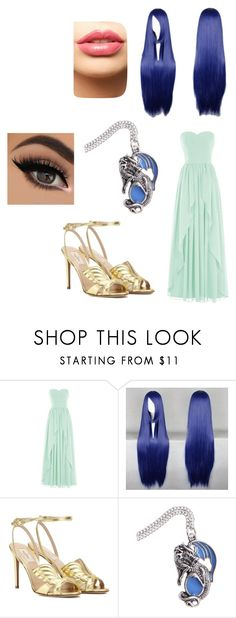 """""""Grandine"""" by kiki-lucky1 ❤ liked on Polyvore featuring Valentino and LASplash"""