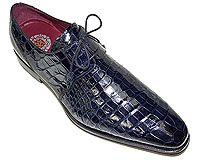 Mezlan Platinum Custom # 3802 at AlligatorWorld.com - Exotic Skin Shoes