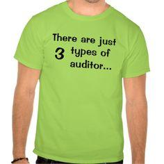 Just 3 types of auditors - Funny T Shirt, Hoodie Sweatshirt