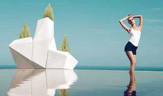 Maceteros de diseño modelo FAZ. Decoración Beltran, tu tienda de mobiliario de diseño para exterior en Internet. www.decoracionbeltran.com