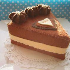 Choc-caramel cake