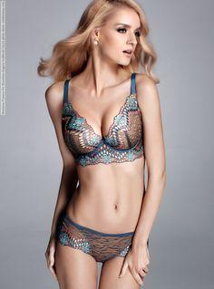 Marianne Fonseca for Moonbasa lingerie lookbook (2012) photo shoot