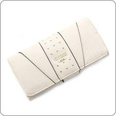 Guess-Geldboerse-Journey-File-Clutch-Milk