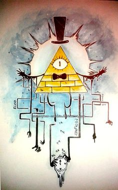 Sick Bill Cipher fan art!