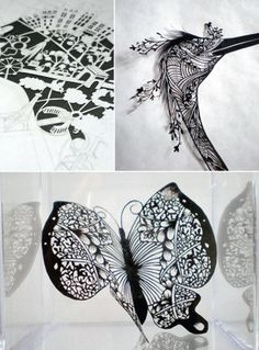 Cut Paper Art - Patience Required!