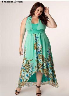 5f8763bdb5e 40 Adorable Plus Size Summer Clothes 17 Piniful Plus Size Long Maxi Dresses  11 5