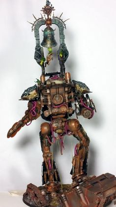 Nurgle's Knight - Chaos Titan Conversion - Spikey Bits