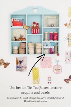 Awesome DIY Craft Room Organization Ideas To Steal Right Now!