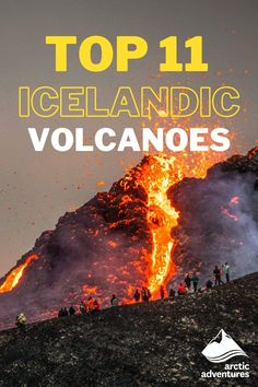 Iceland is nicknamed the land of ice and fire. The fire represents the abundance of volcanoes and volcanic system tucked away in the colorful landscape. Here are the top 11 Iceland Volcanoes! Famous Outlaws, Iceland Travel Tips, Colorful Mountains, Female Names, Active Volcano, Cultural Events, Volcanoes, Arctic, Viajes